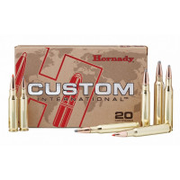 BALLES HORNADY CUSTOM INTERNATIONAL INTERLOCK SPIRE POINT CALIBRE 9.3X62 286 GR