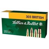 BALLES SELLIER & BELLOT FMJ CALIBRE 303 BRITISH 180 GR