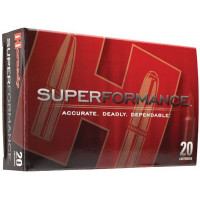 BALLES HORNADY SUPERFORMANCE SST CALIBRE 7X64 162 GR