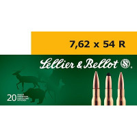 BALLES SELLIER BELLOT CALIBRE 7.62X54R 180 GR FMJ