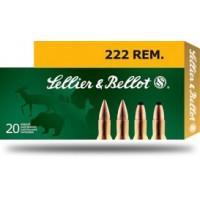 BALLES SELLIER BELLOT CALIBRE 222 REM FMJ 50 GR