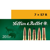 CARTOUCHES SELLIER & BELLOT CAL.7X57R SPCE PAR 20