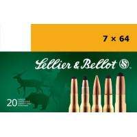 CARTOUCHES SELLIER & BELLOT CAL.7X64 SPCE SANGLIER COURANT PAR 50