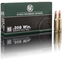 BALLES RWS KS CALIBRE 308 WIN 165 GR