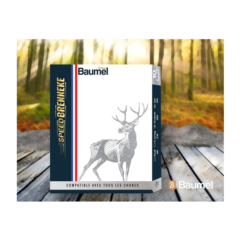 CARTOUCHES BAUMEL SPEED BRENNEKE CAL 12-70 BTE 10