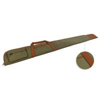 Fourreau fusil toile forte avec poche long 130 cm