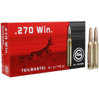 BALLES GECO TM CALIBRE 270 WIN 140 GR