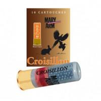 CARTOUCHES MARY ARM CROISILLON CALIBRE 16 - 30 G - BG - PB 6