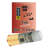 CARTOUCHES MARY ARM TIR EXTREM 35 LAITONNE CALIBRE 12 - 35G - BJ - PB 6