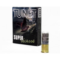 CARTOUCHES TUNET SUPER BECASSE CALIBRE 12 - 40 G - BG - PB 9