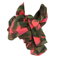 CHECHE STAGUNT JUSTEEN SCARF CAMOO PINK