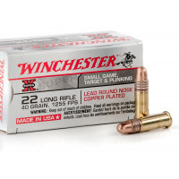 BALLES WINCHESTER 22 LR SUPER X COPPER PLATED X 325