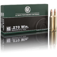 BALLES RWS KS CALIBRE 270 WIN 150 GR