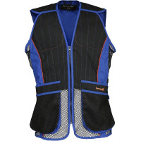 GILET BALL TRAP PERCUSSION EVO BLEU/NOIR
