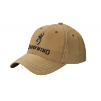 CASQUETTE BROWNING LITTLE WAX KAKI