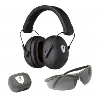 CASQUE ANTI BRUIT BROWNING TACTICAL RANGE + LUNETTES