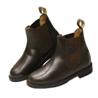 BOTTINES CUIR MARRON COVALLIERO 44