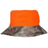BOB CAMOUFLE REVERSIBLE ORANGE FLUO