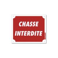 PANNEAU CHASSE INTERDITE 25 X 30 CM AKYLUX