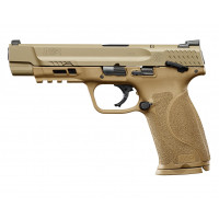 PISTOLET SMITH & WESSON M&P9 M2.0 FDE CALIBRE 9X19 - 5 POUCES