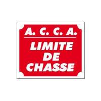 PANNEAU LIMITE DE CHASSE 25 X 30 CM AKYLUX
