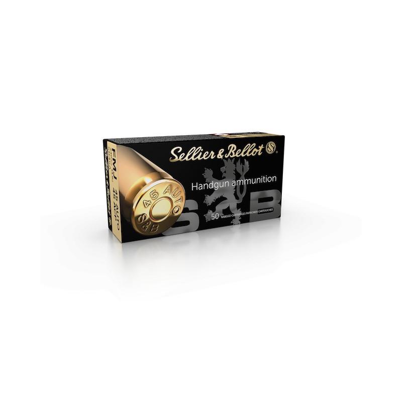 BALLES SELLIER BELLOT CALIBRE 45 ACP FMJ 230 GR