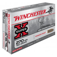 BALLES WINCHESTER SUPER X POWER POINT CALIBRE 270 WIN 150 GR