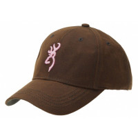 CASQUETTE BROWNING DURAWAX FEMME PINK BROWN