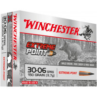 BALLES WINCHESTER EXTREME POINT CALIBRE 30-06 150 GR