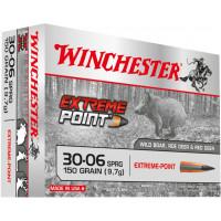 BALLES WINCHESTER EXTREME POINT CALIBRE 30-06 150 GR