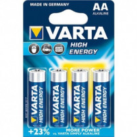 BLISTER DE 4 PILES VARTA LR 06 AA 1.5V HIGH ENERGY