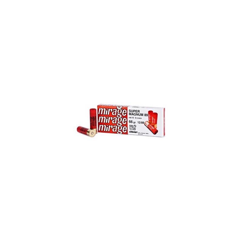 CARTOUCHES CLEVER T3 SLUG CALIBRE 12 - 66 G