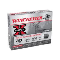 CARTOUCHES A BALLE WINCHESTER SLUG SUPER X CALIBRE 20 - 21 G