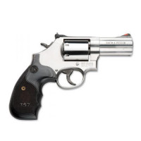 REVOLVER S&W 686 SERIE 3-5-7 CAL 357 MAG 3 POUCES CROSSE BOIS