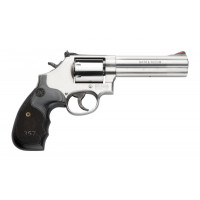 REVOLVER S&W 686 SERIE 3-5-7 CAL 357 MAG 5 POUCES CROSSE BOIS