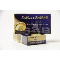 CARTOUCHES SELLIER BELLOT 35550 CAL 22 SHORT