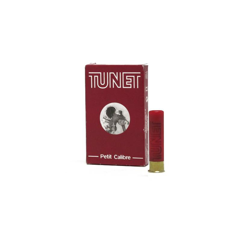 CARTOUCHES TUNET CAL 14mm BOURRE JUPPE 14 GR Plomb 9