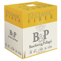 CARTOUCHES B&P F2 CLASSIC FIBER CAL 20 BG 26 G PB 7