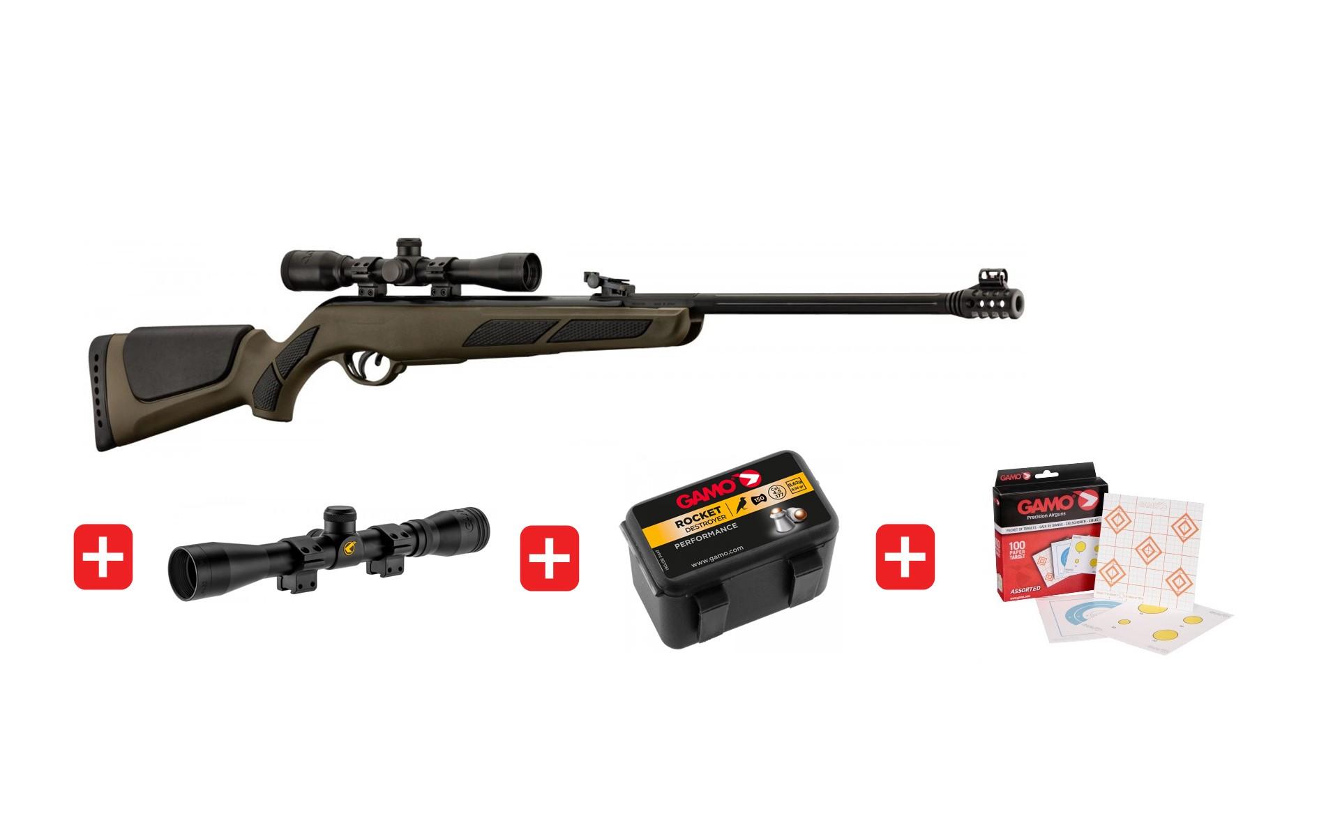 Carabine à Plomb Air Comprimé Puissante Pas Cher Sans Permis