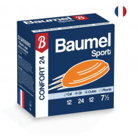 CARTOUCHES BAUMEL CONFORT CALIBRE 12 - 24 G - BJ - PB 7.5