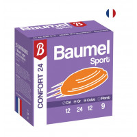 CARTOUCHES BAUMEL CONFORT CALIBRE 12 - 24 G - BJ - PB 9